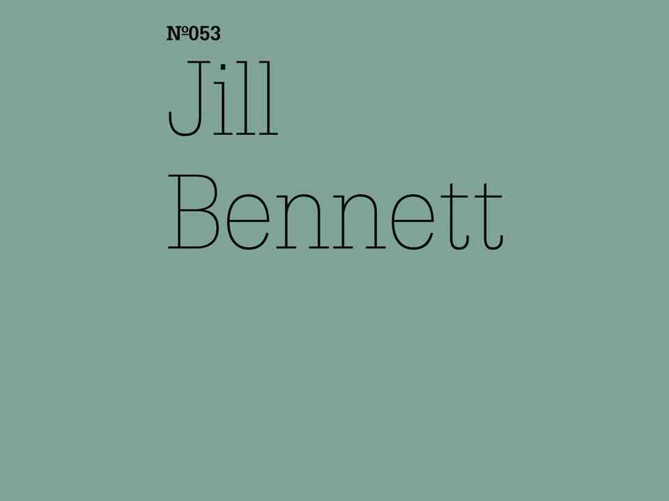 Jill Bennett Living in the Anthropocene